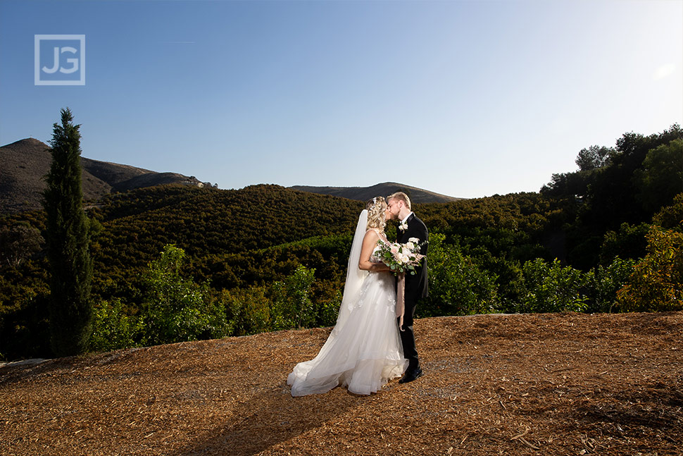 Quail Ranch Wedding Photos with Orchard