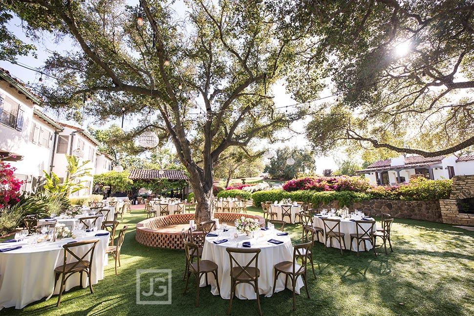 Quail Ranch Reception Tables