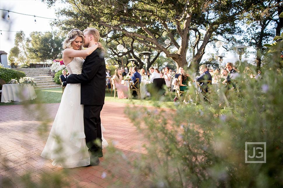 Quail Ranch Wedding First Dance