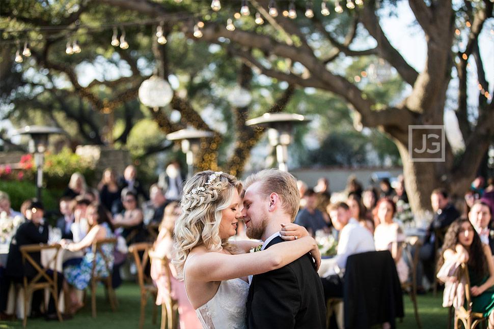 Wedding Reception First Dance Quail Ranch