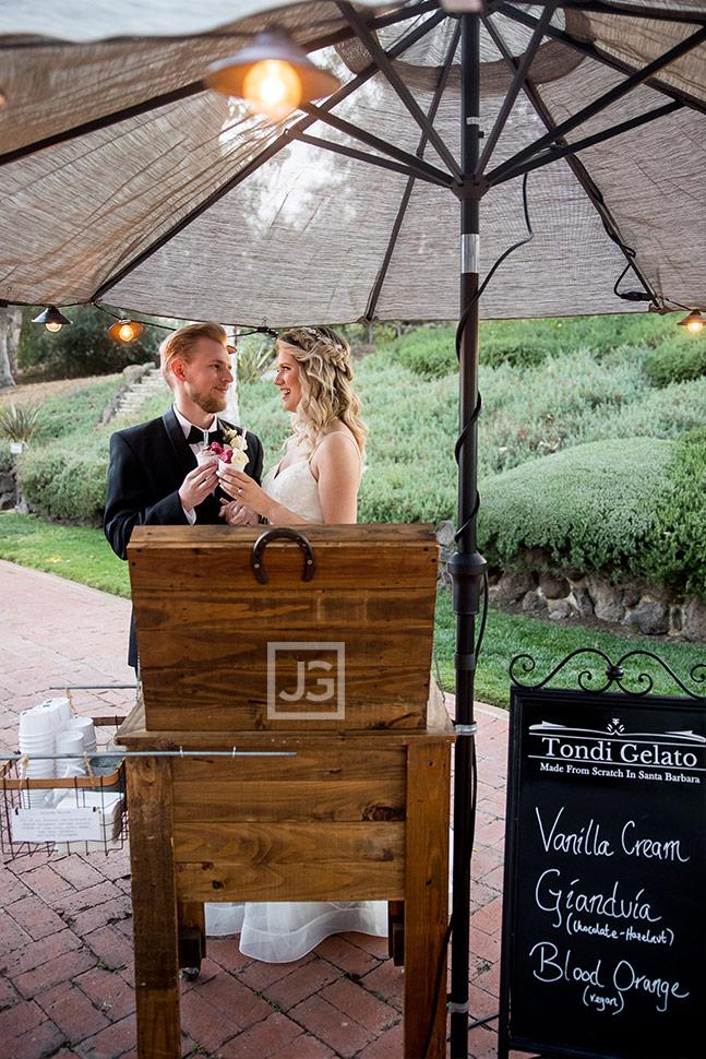 Simi Valley Wedding Gelato Stand