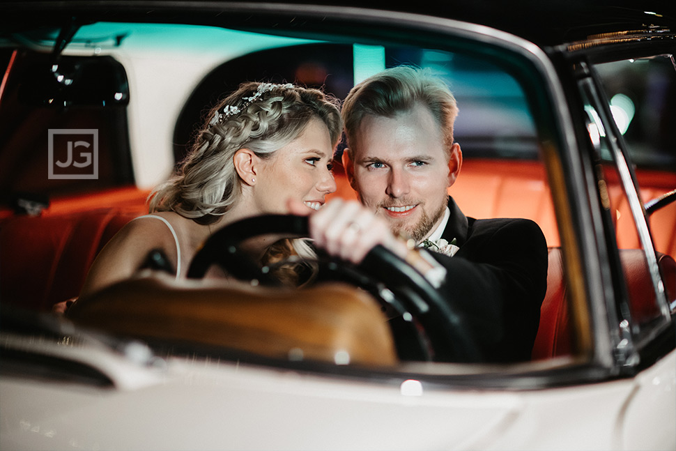 Wedding Photography with Vintage Mercedes
