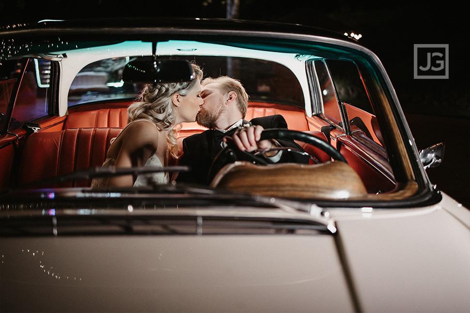 Classic Car Wedding Photography