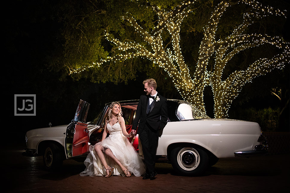 Classic Mercedes Wedding Photo
