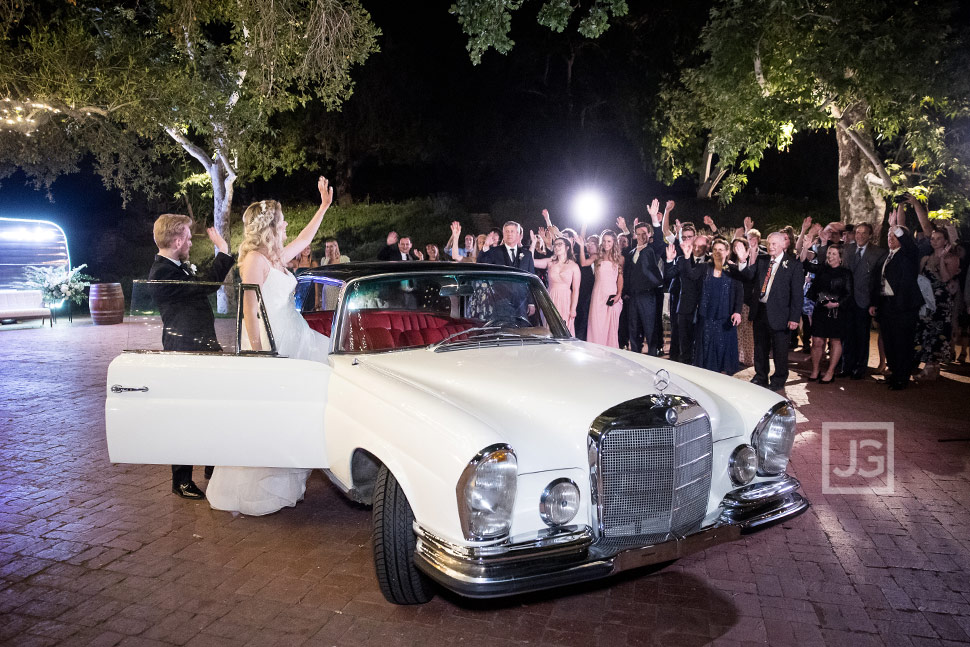 End of Wedding in Simi Valley