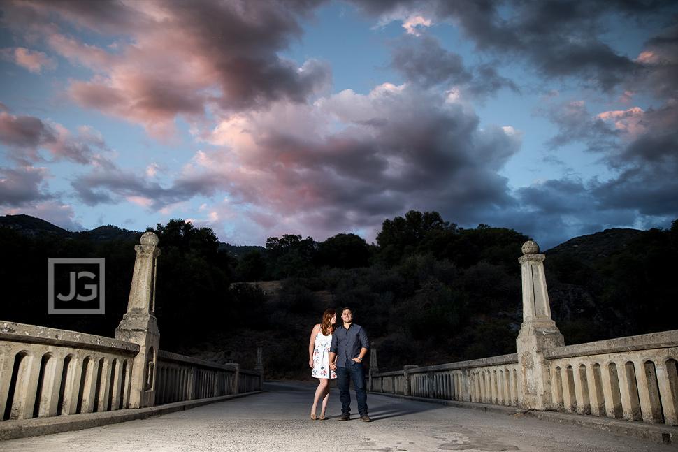 Engagement Photography Historic Bridge
