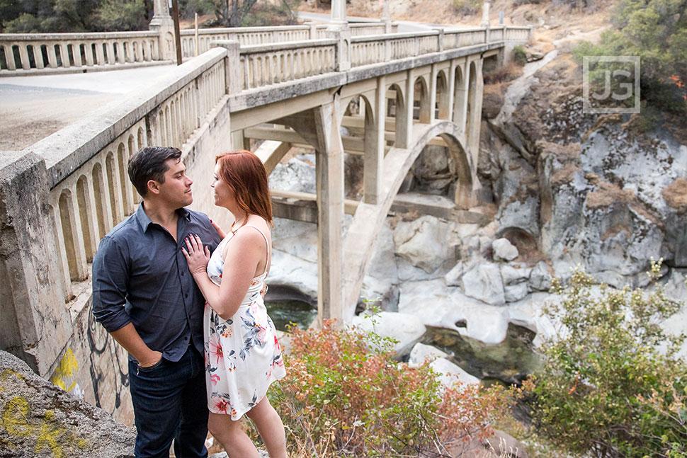 Engagement Photos Historic Bridge
