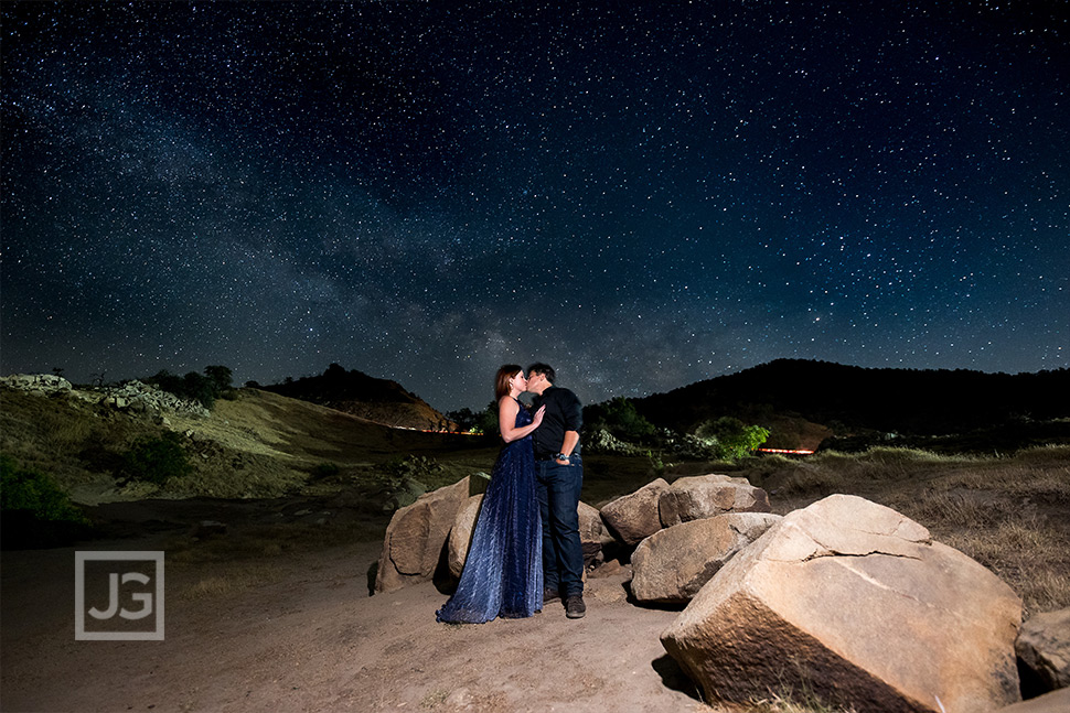 Engagement Photos with Stars