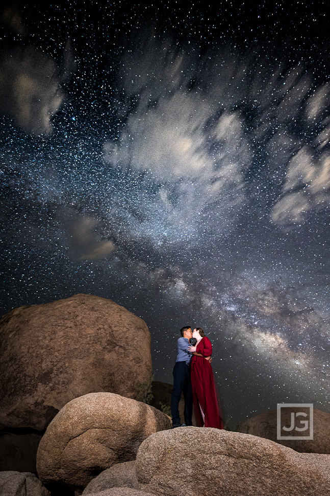 Milky Way Engagement Photography