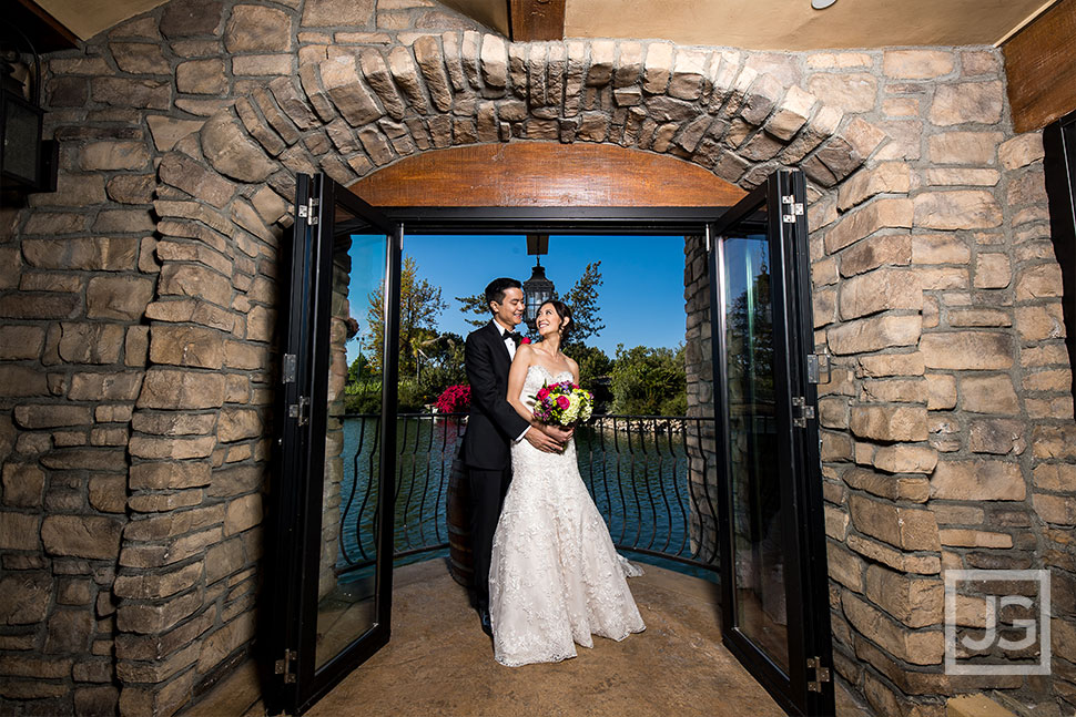 Westlake Village Inn Wedding cellar room