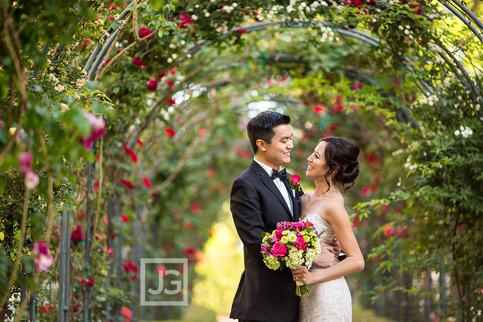 Westlake Village Inn Wedding Photographer