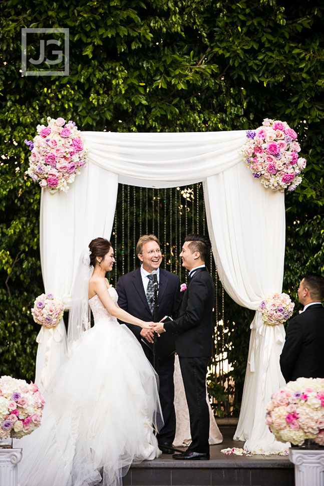 Four Seasons Beverly Hills Wedding Ceremony