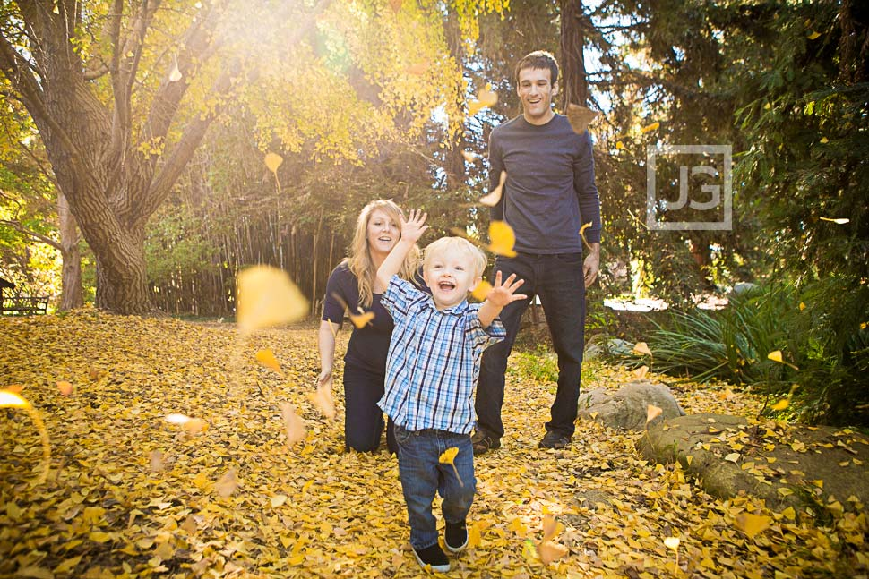 Fullerton Arboretum Family Photography | The Lukehart Family