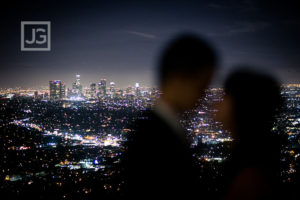 Griffith Observatory Engagement Photography, Santa Monica | Izumi & Michio