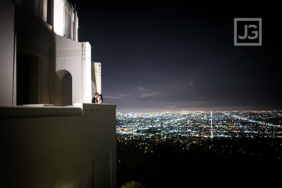 The amazing view from the Griffith Observatory