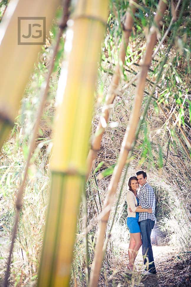 LA Arboretum Engagement Photography