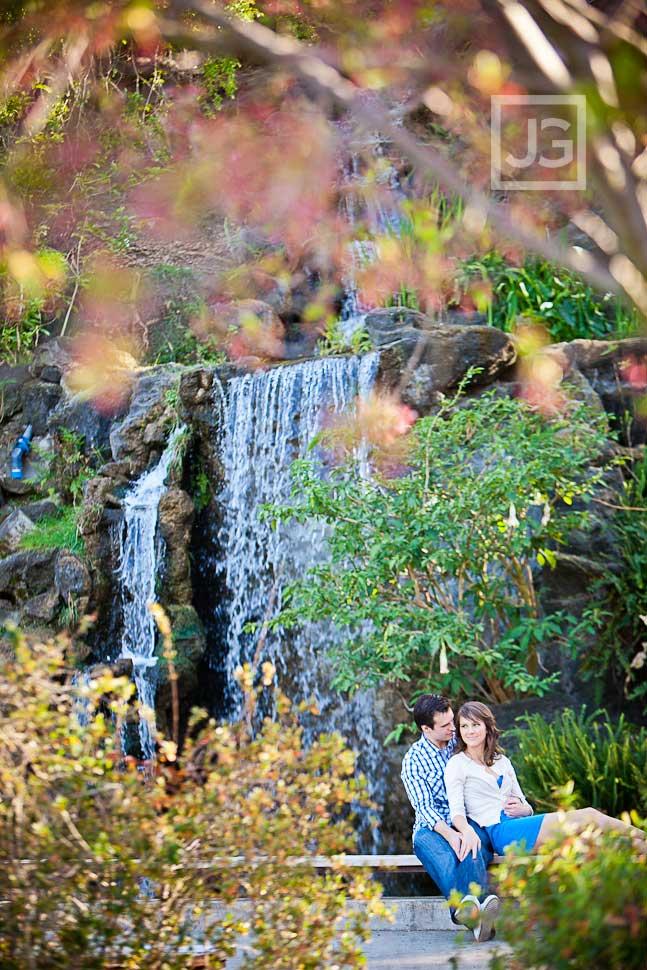 LA Arboretum Engagement Photos