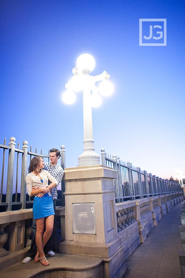 Colorado St Bridge Engagement Photography Pasadena