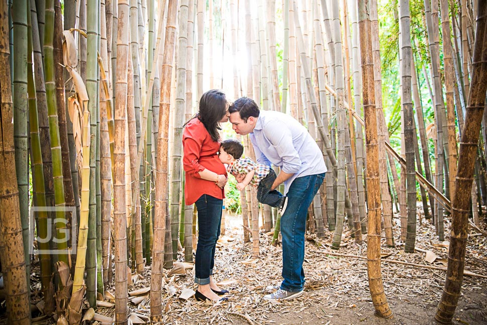Family Photography LA Arboretum Maternity Photos