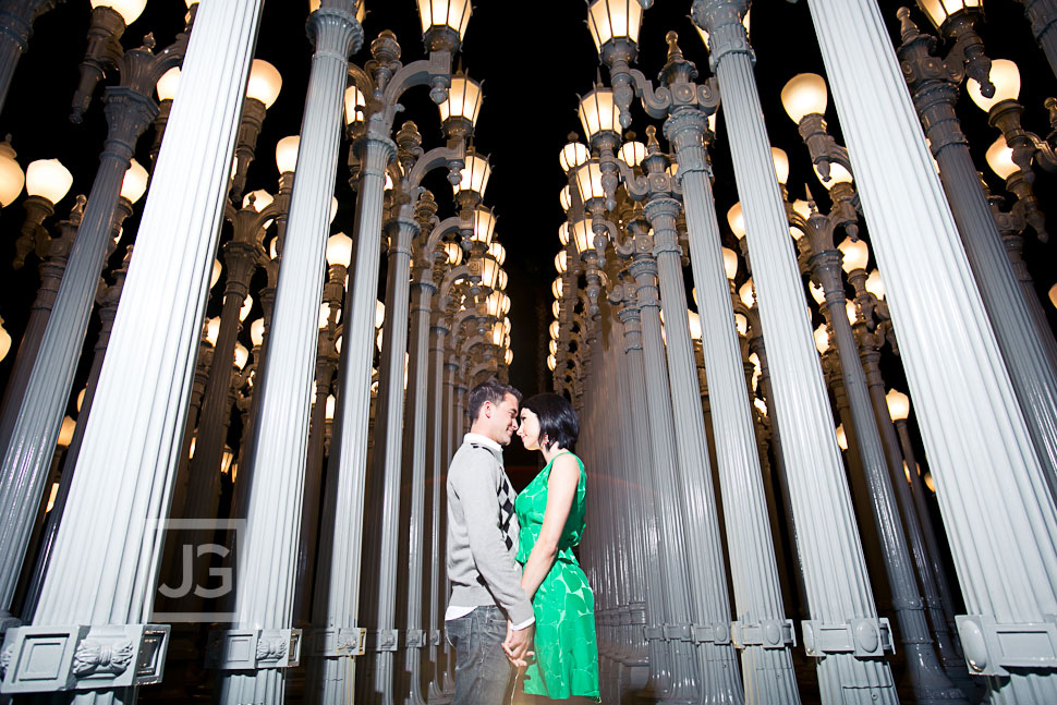 LACMA Engagement Photography Los Angeles