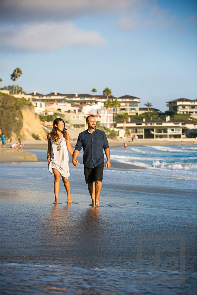 Laguna Beach Engagement Photo