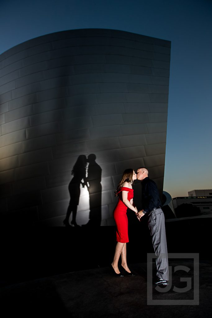 Downtown Los Angeles Engagement Photos