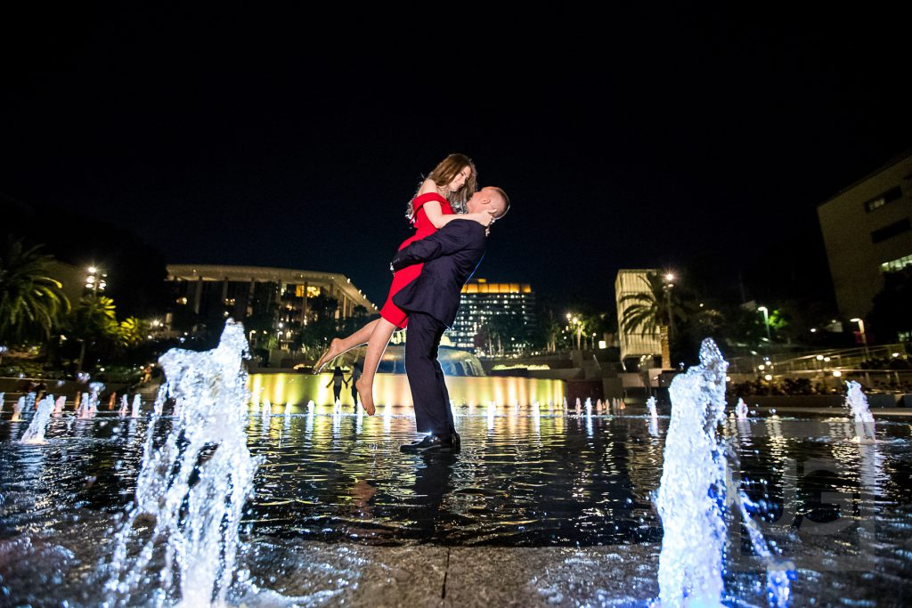 Grand Park Engagement Photography