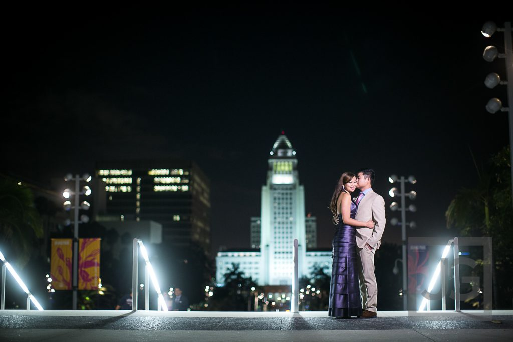 downtown Los Angeles City Hall