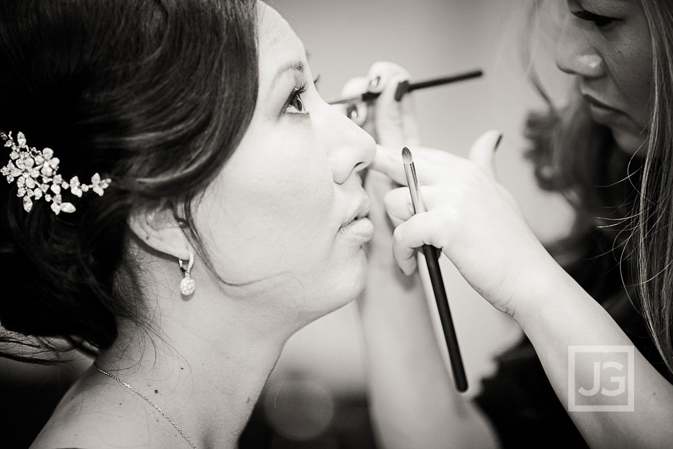 Salon de Jeunesse Wedding Preparation