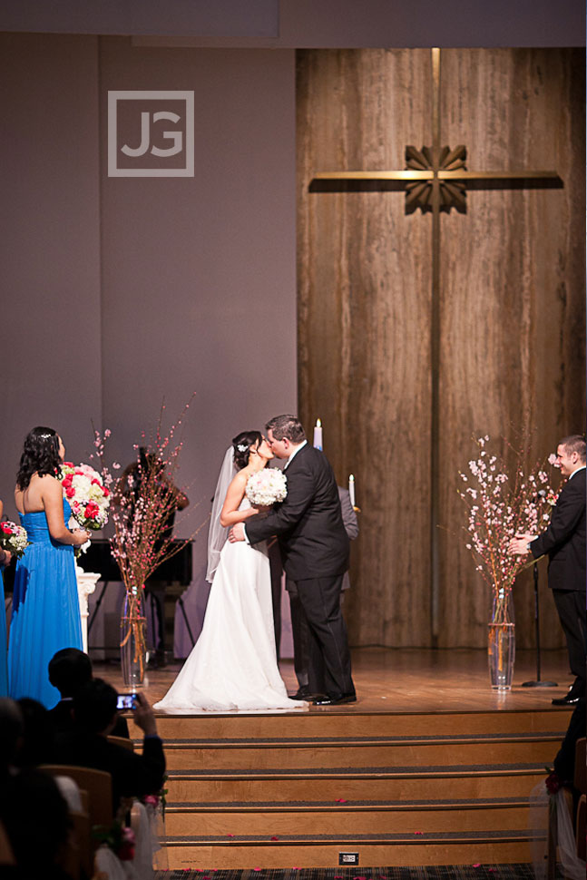 Arcadia Presbyterian Church Wedding Ceremony
