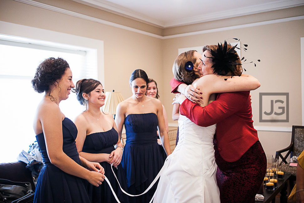 Altadena Country Club Wedding Preparation