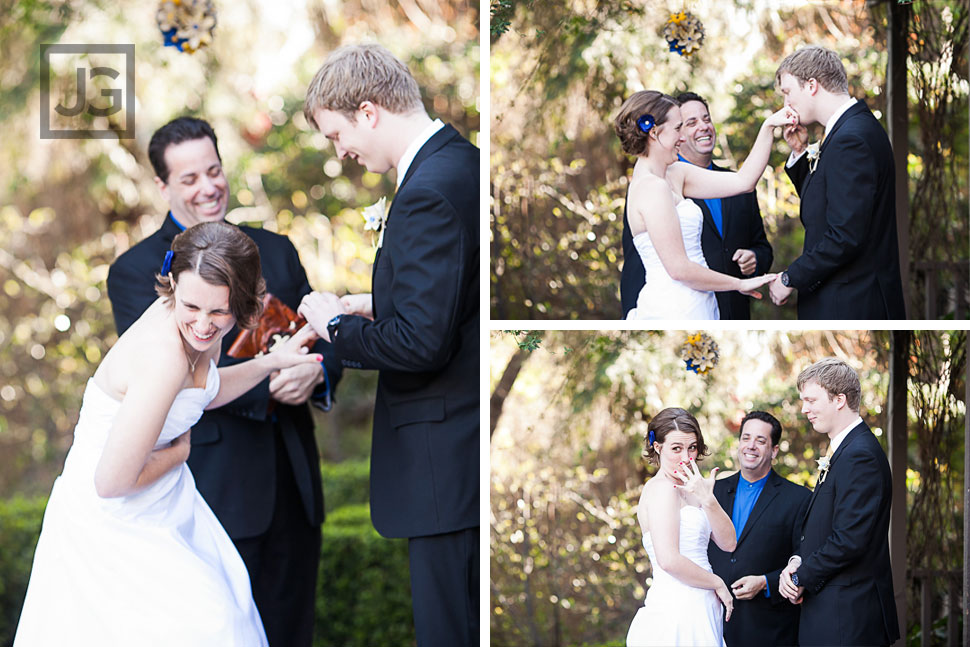 Altadena Country Club Wedding Ceremony