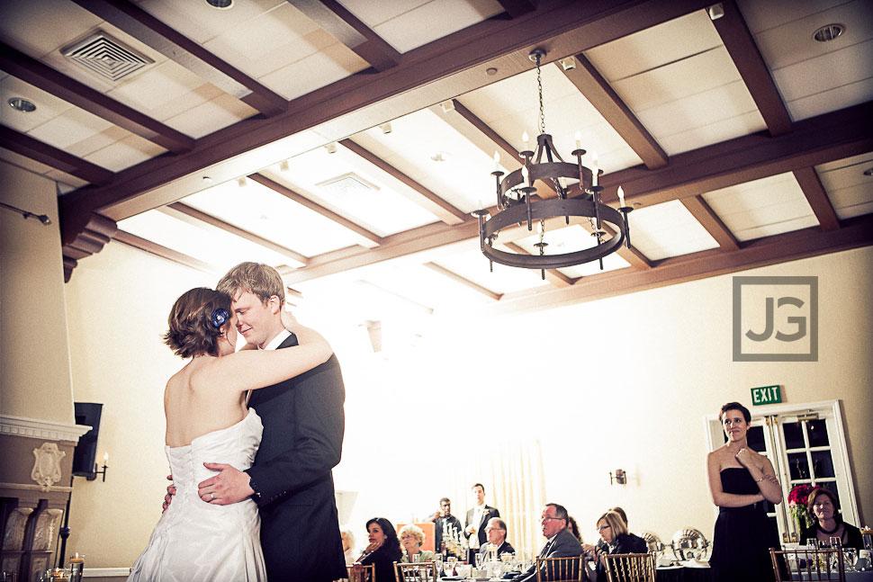 Altadena Country Club Wedding First Dance