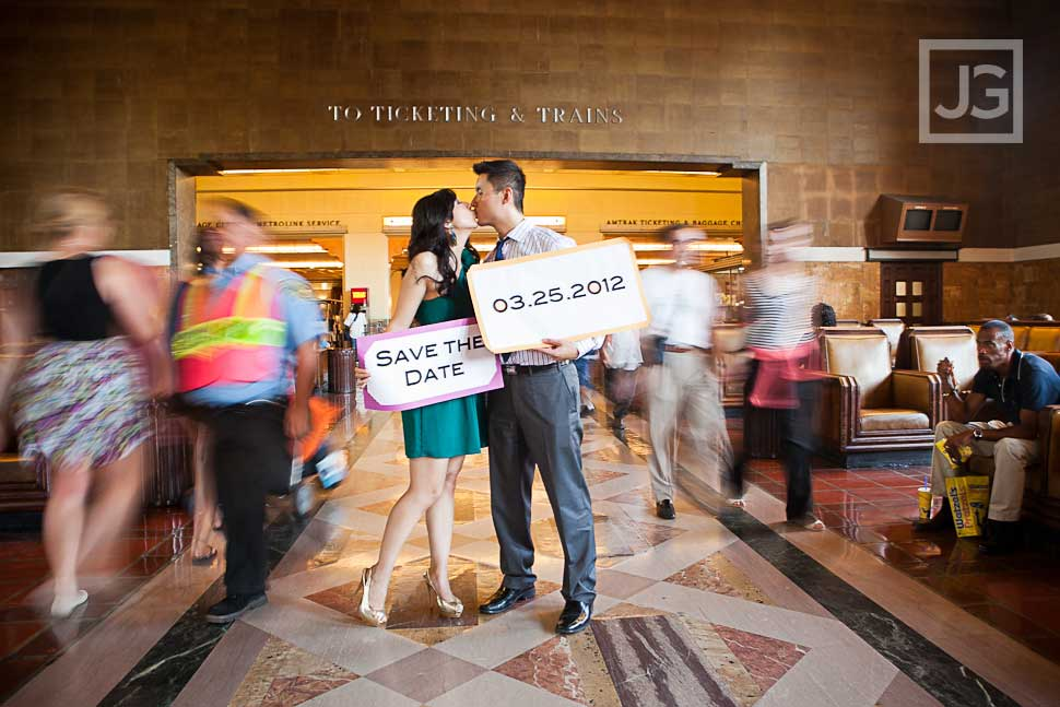 Save the Date in Union Station