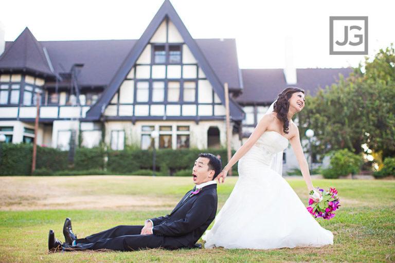 Pasadena Wedding Photography Ambassador Gardens | Annie + Jon