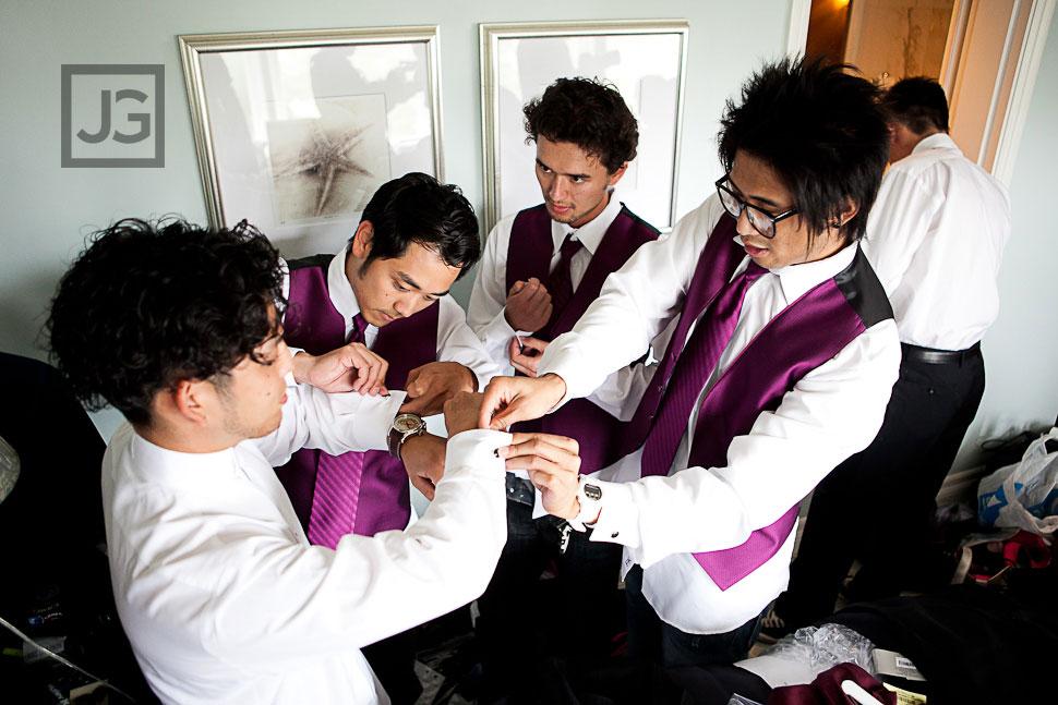 Wedding Preparation Casa del Mar