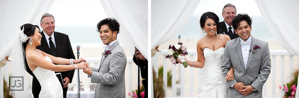 Shutters wedding ceremony