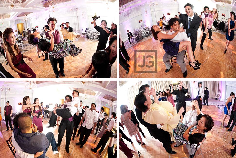 Casa del Mar Wedding Reception Dancing