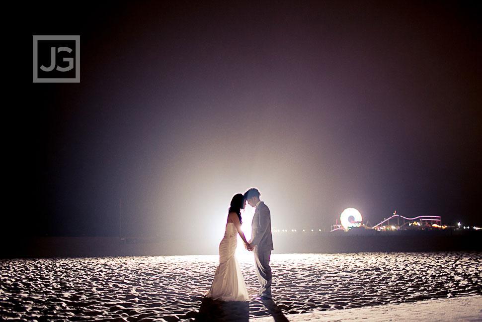 Santa Monica Beach Wedding Photography