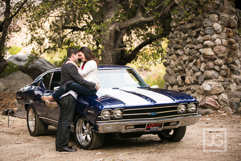 1969 Chevelle Engagement Photos