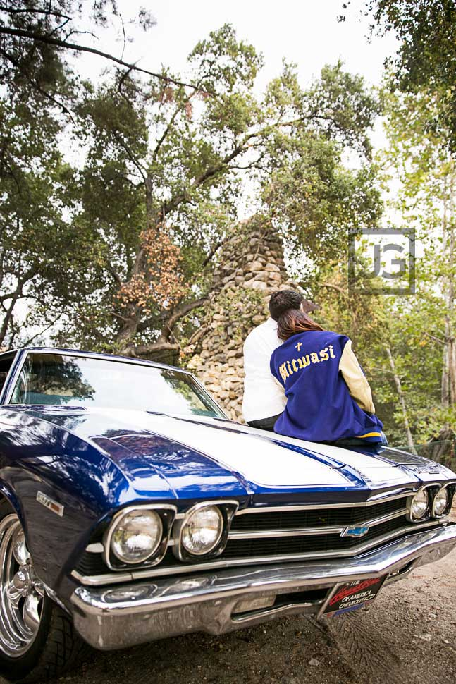 1969 Chevelle Muscle Car Engagement Photos