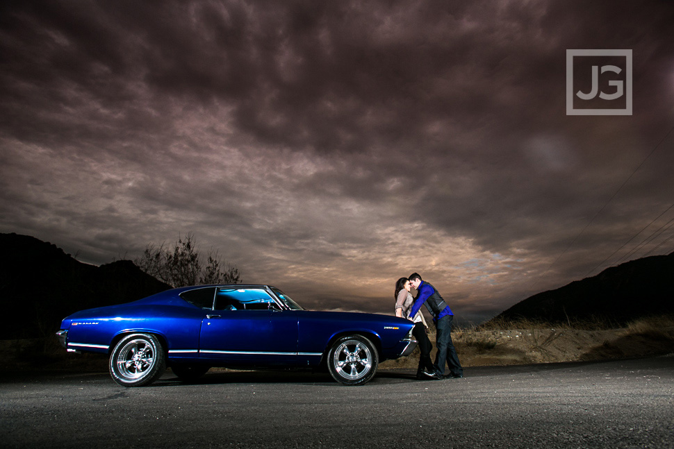 Muscle Car Engagement Photos