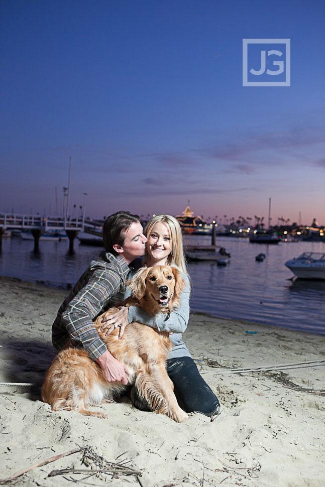 Balboa Island Engagement Photos