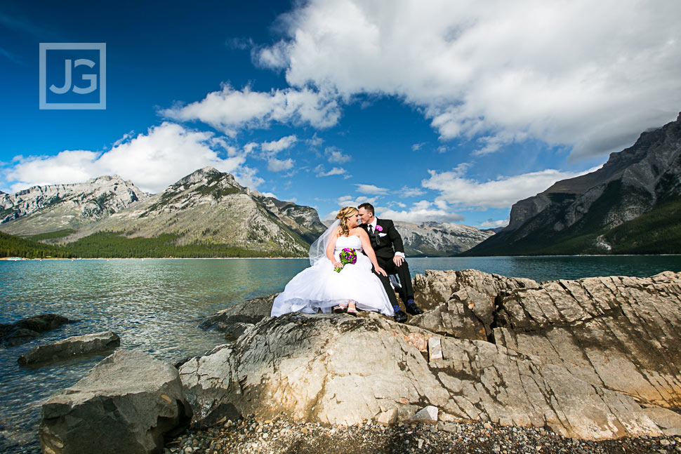 Destination Wedding Photography Banff Rimrock Resort | Jill + Stephen