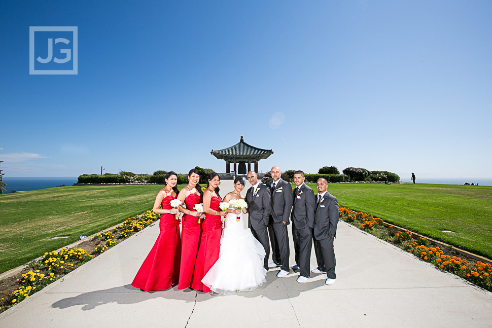 Korean Friendship Bell Wedding Photos