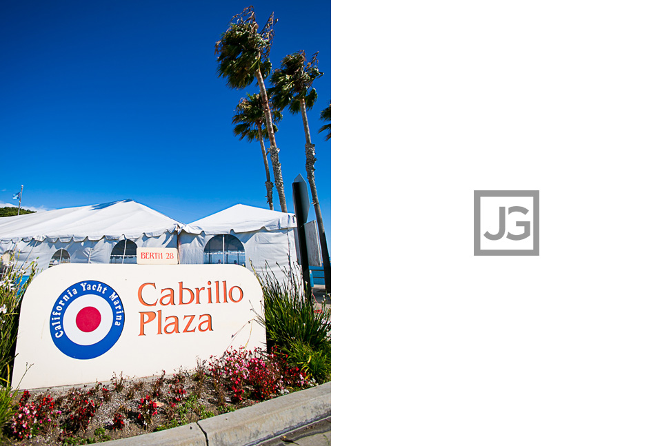 Cabrillo Plaza Wedding Reception