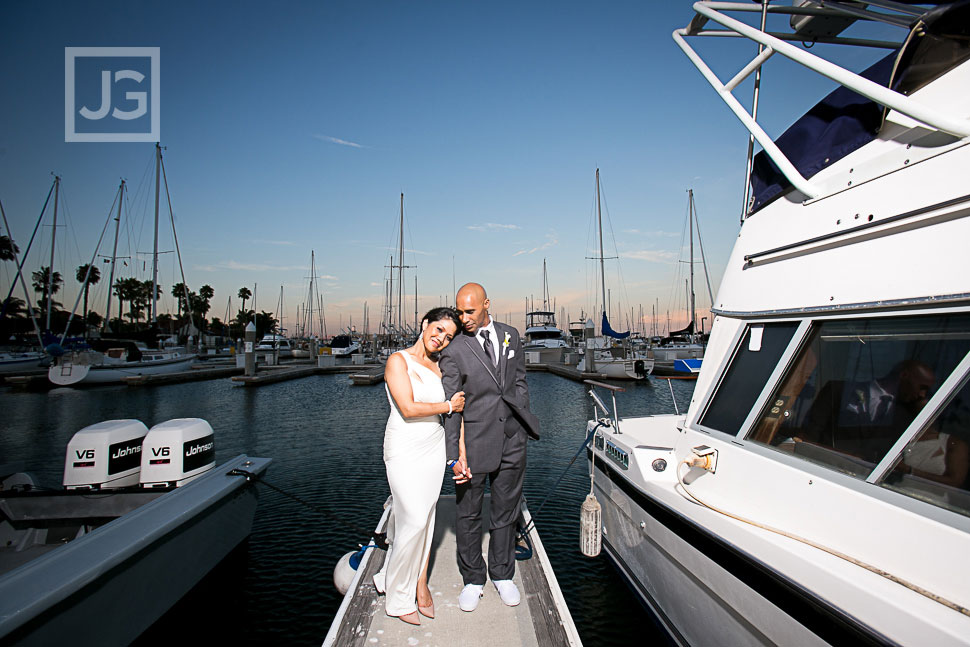 Cabrillo Marina Wedding Photography