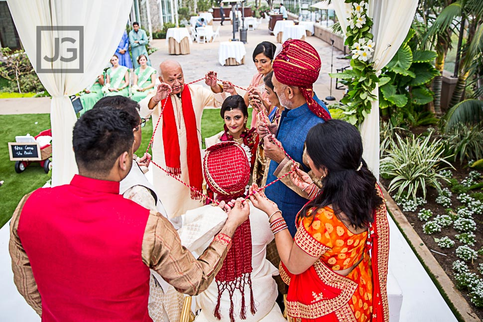 Cape Rey Indian Wedding Ceremony