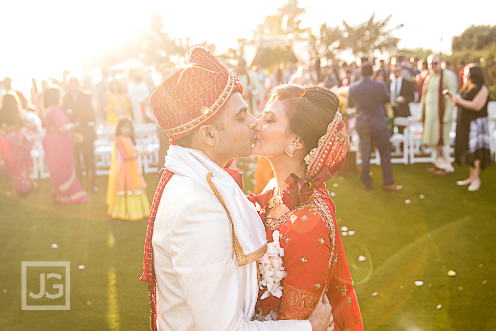 Cape Rey Carlsbad Indian Wedding Ceremony