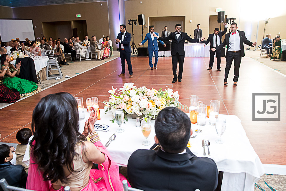 San Diego Indian Wedding Reception